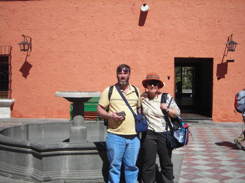 Russell and Carola in Peru